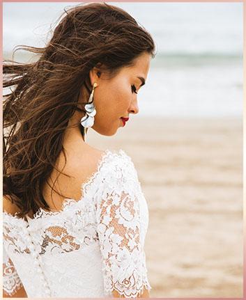 bruidsjapon strand